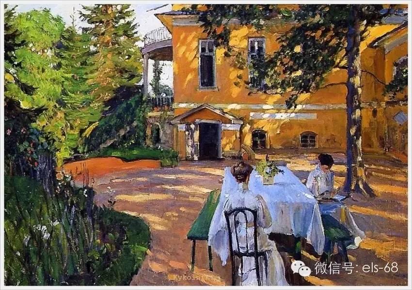 【艺术】俄罗斯画家笔下的夏季风景油画作品图片