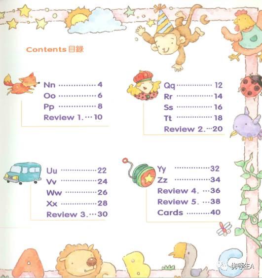 学习 计划 第一周:学习26个字母 学习英文字母及发音有各种不同的