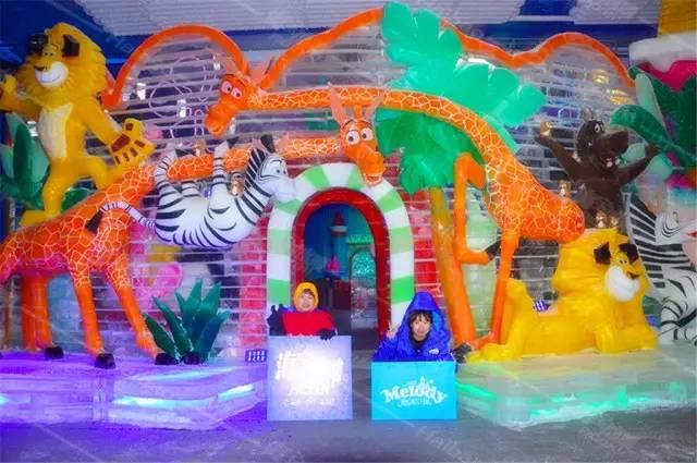 杭州野生动物园亲子游(夏季冰雪动物城)