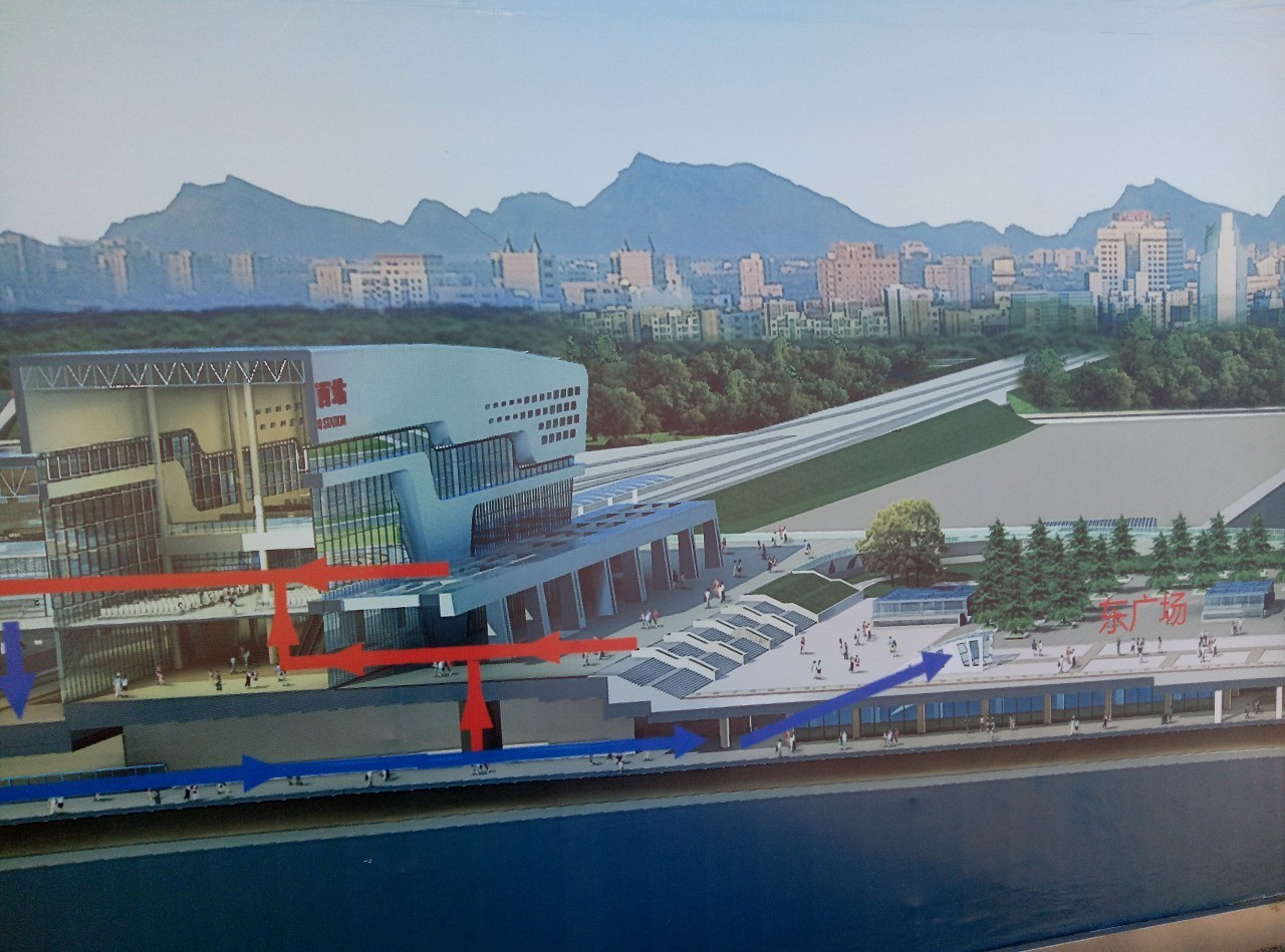 赤峰西站设计图