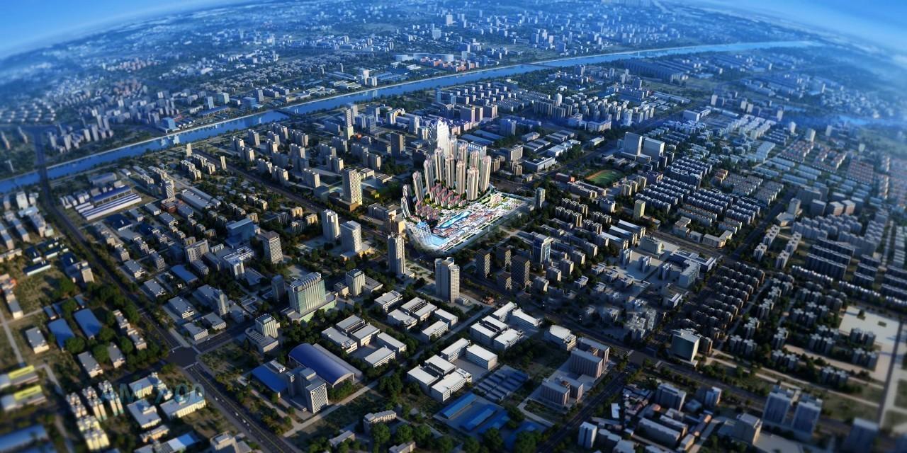 镇雄伴山生态城规划图