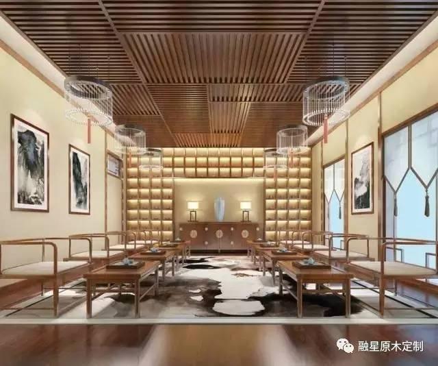 融星分享  新中式茶室