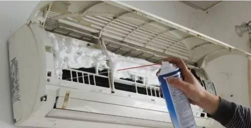 时尚 正文  家用空调每年可请专业人士进行一次全面清洗和消毒,特别是