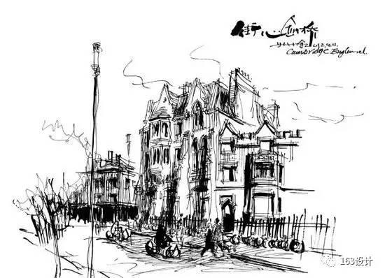 《皖南徽派建筑》 《欧洲建筑语言符号》 《木街诗画》 手绘作品