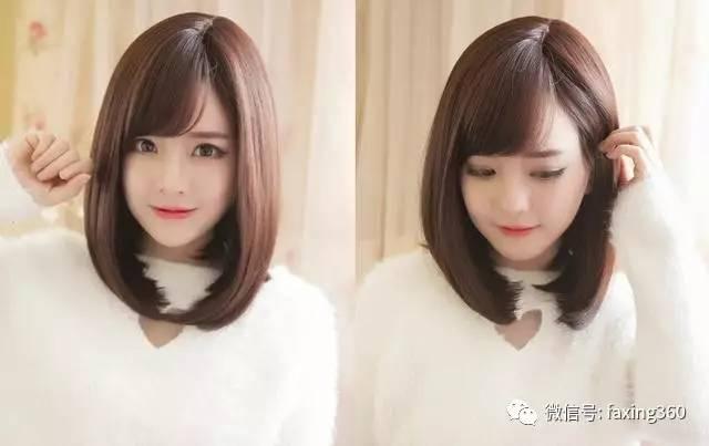 长发短发都适合的内扣梨花头发型美翻了!