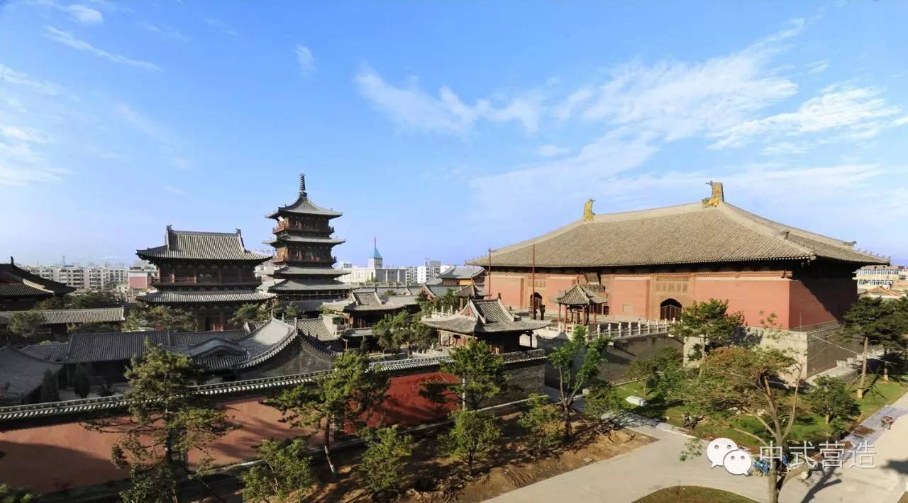 山西古迹|晋北忻州朔州大同地区传统建筑文化古迹