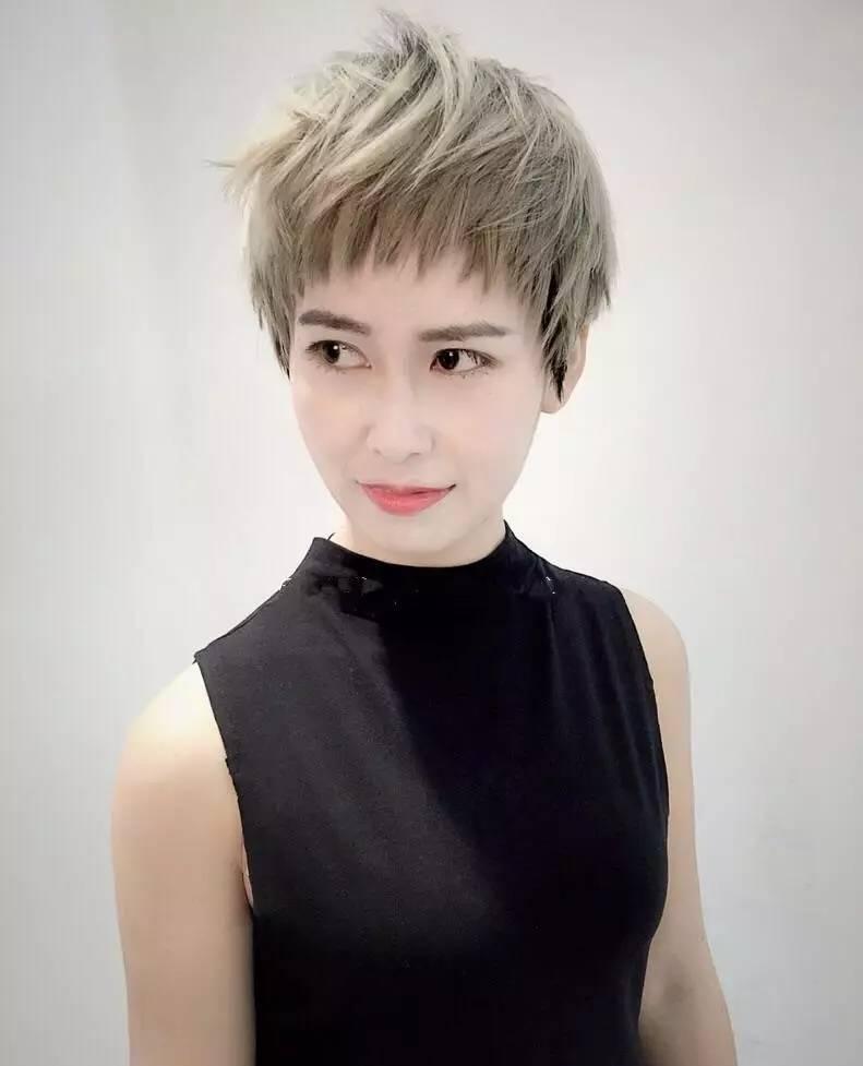 超短发,依然是夏天主流发型图片