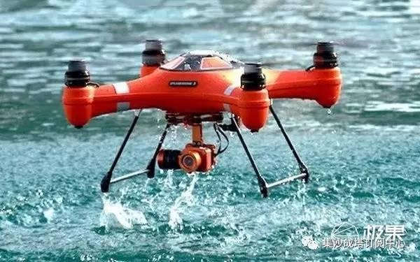 能下水堪比小潜艇的无人机!上天入水拍4K,大疆也得服