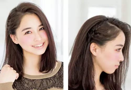 扎头发简单好看的步骤 ol发型扎法教程图片