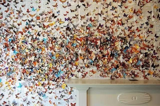 五彩缤纷的蝴蝶,各种可爱的小动物,召回了摩登大咖无忧无虑的童年!