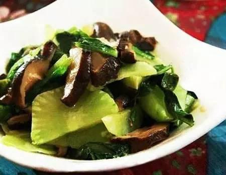 每周请吃一天素吧 美味素食 清爽香菇炒青笋