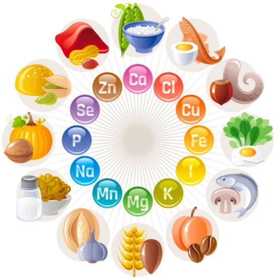 健康课堂 身体不可缺少的 有用 矿物质