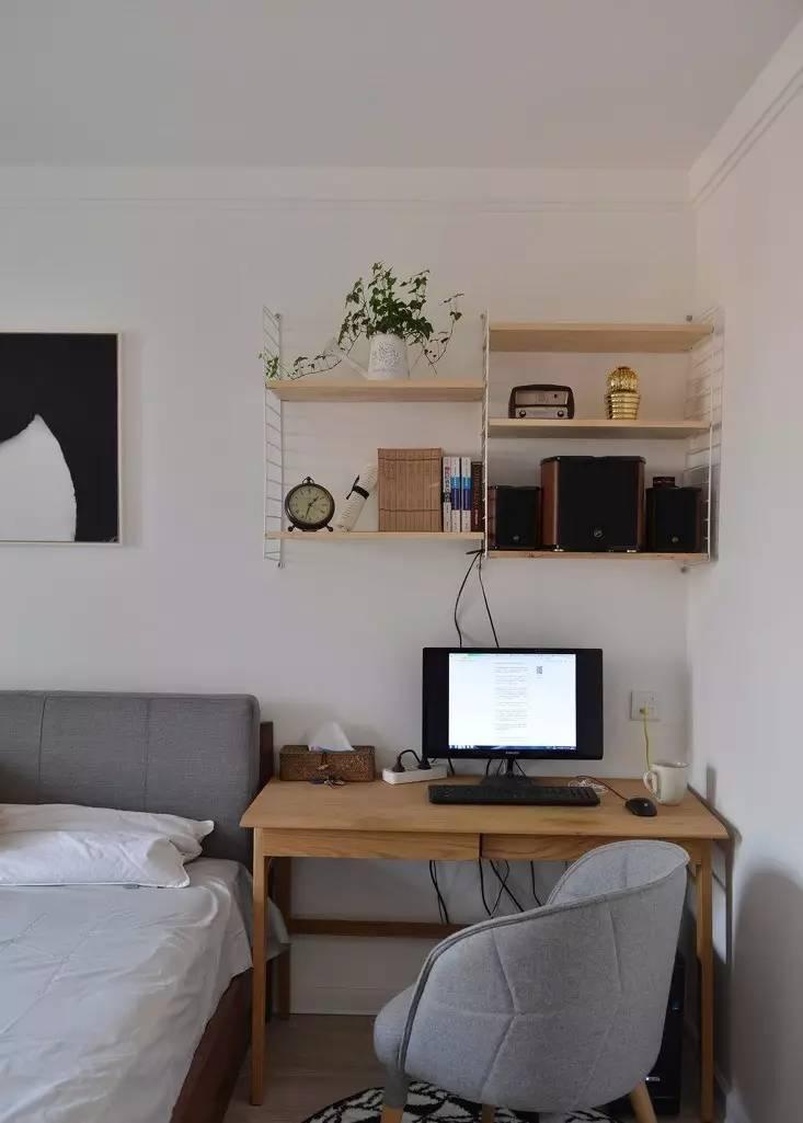 次卧书房装修效果图小户型