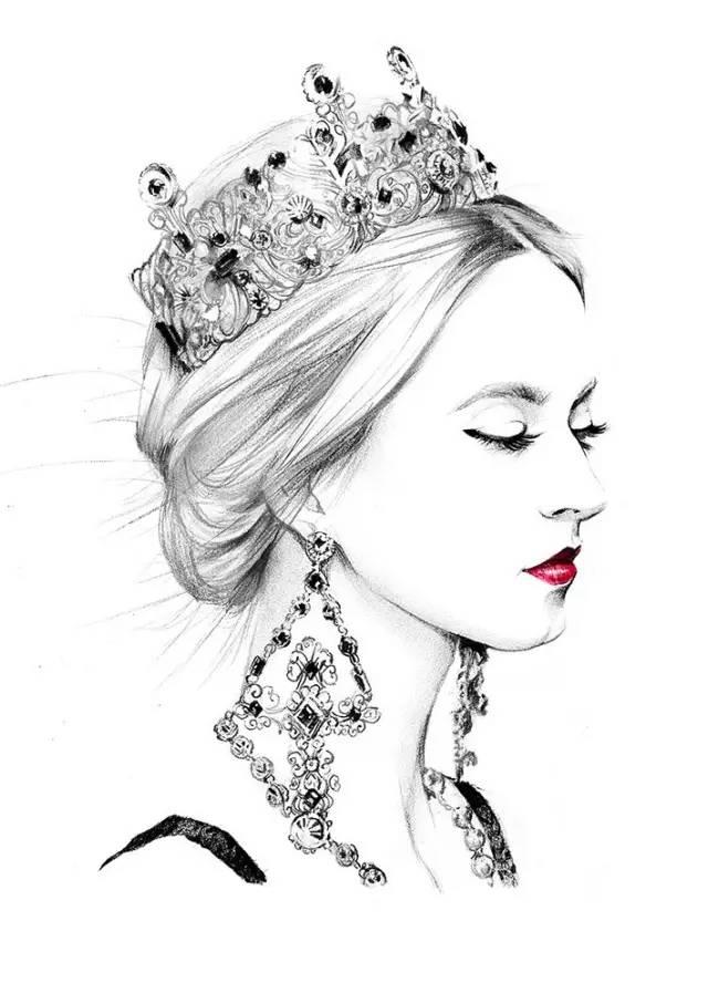 手绘-高水平 超详细的时尚插画教程图片