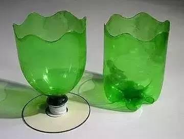 可乐瓶手工制作水养花盆