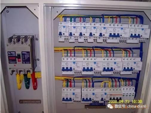 【电气分享】配电箱控制柜接线图,单相电和三相电基础