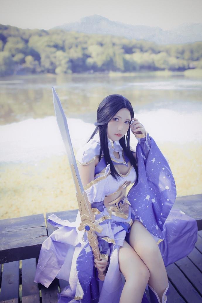 真人cos王者荣耀至尊宝和紫霞仙子图片欣赏