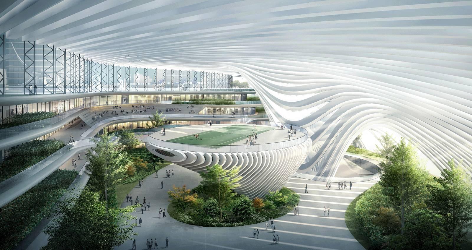 2.5 科技展示步行街——万国智慧谷图片