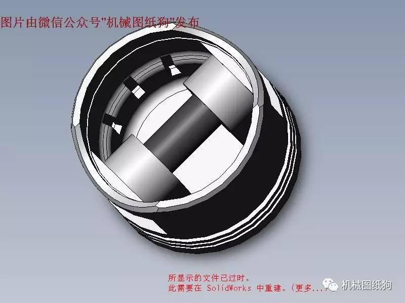 【发动机电机】简易内燃机内部结构3d模型图纸