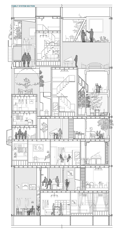 别人家的建筑学大四作业,来自河北工大的脑洞大开!