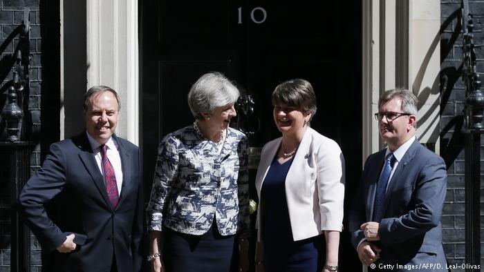 十亿英镑换来合作?梅首相争得DUP支持
