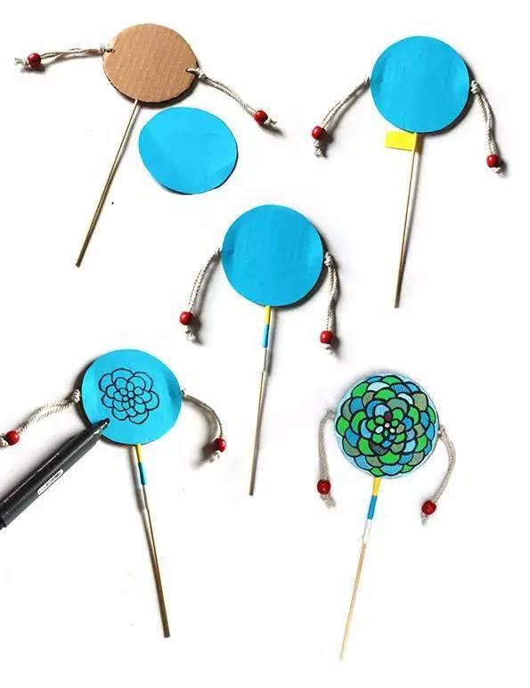 幼儿园手工制作之废物利用:你想要的儿童玩具乐器都在