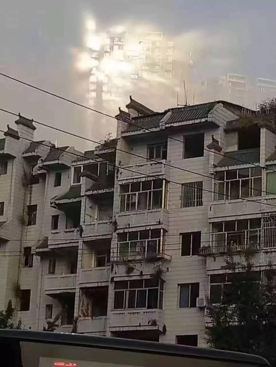 海市蜃楼光临南京?只是看起来像_手机新浪网