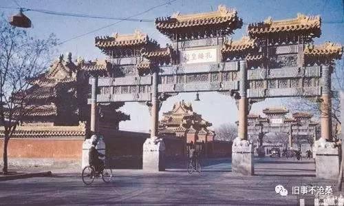 旧事作品 老北京的牌楼