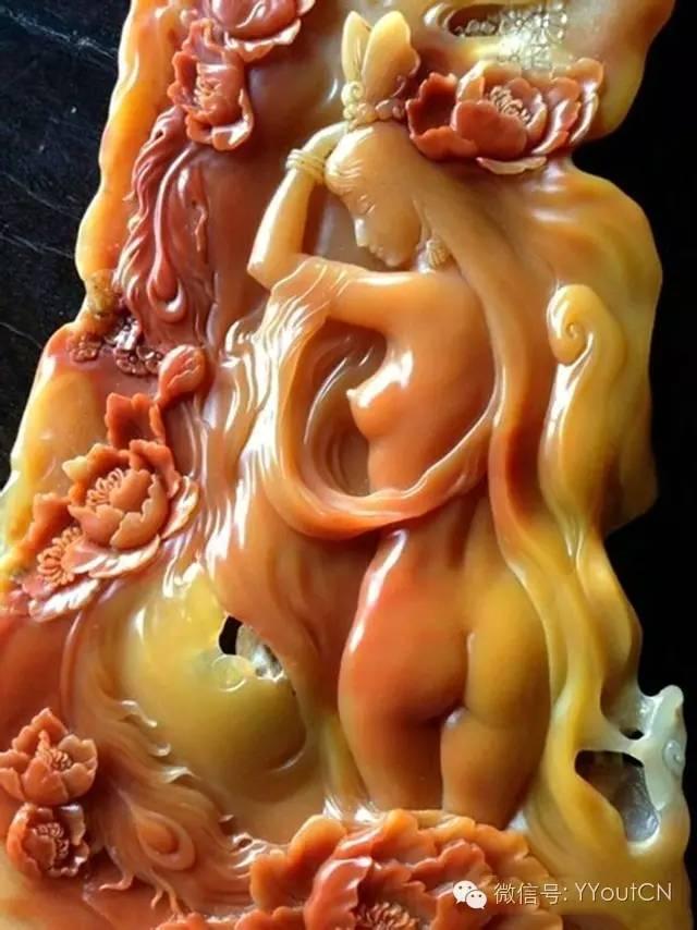 惊绝:中国玉雕美女,抛开人体黄金比例更迷人!凹凸有致,极致唯美!