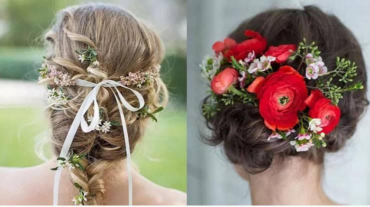新娘头饰的各种鲜花代表的各种含义呢
