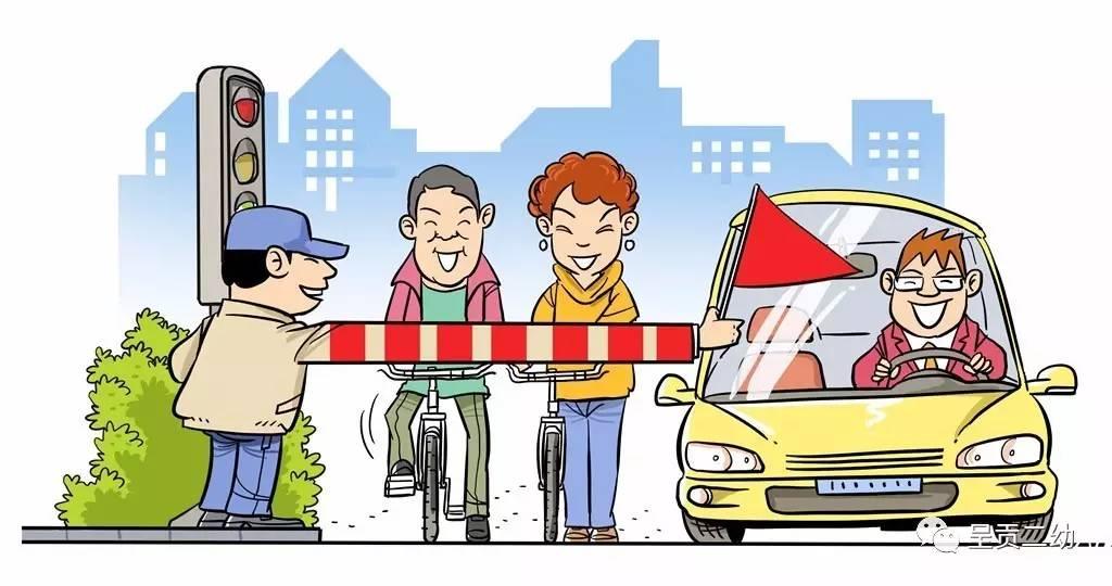 积极参与文明交通志愿服务,主动劝阻不文明交通行为,引导孩子,提醒