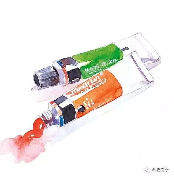 水彩颜料(管状)