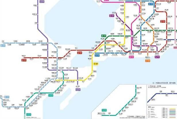 实现城乡公交一体化 青岛地铁13号线(r3线) 1 计划2018年通车 青岛
