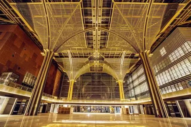 """地址:滨海新区中心商务区紫云公园北侧 规模:""""五馆一廊""""的文化中心图片"""