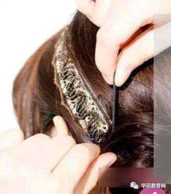 夏季中长发发型盘发图解,更显时尚,有女人味!