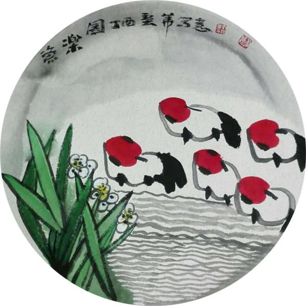 中国当代山水画名家:张艺华