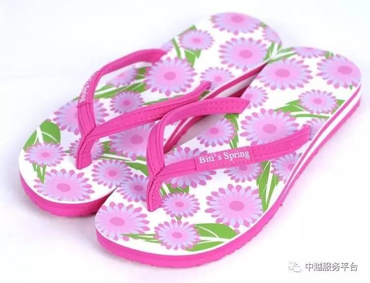 """""""走红""""的越南拖鞋"""