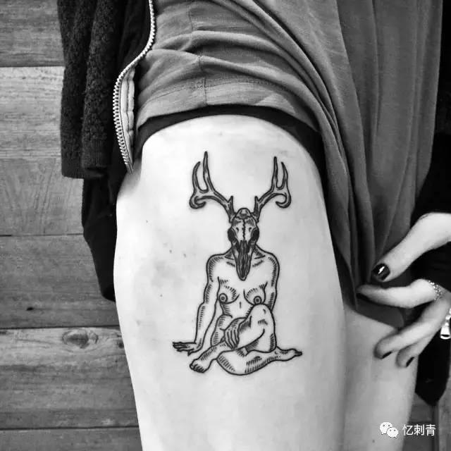 神秘与黑暗的故事 | 纹身