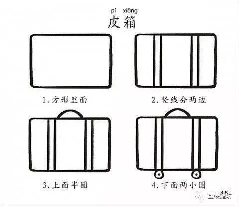 教小朋友学简笔画