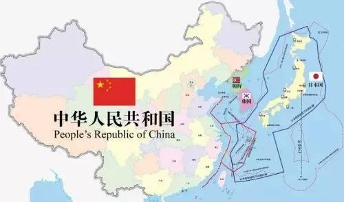为什么全世界只有日本把中国地图倒过来看?
