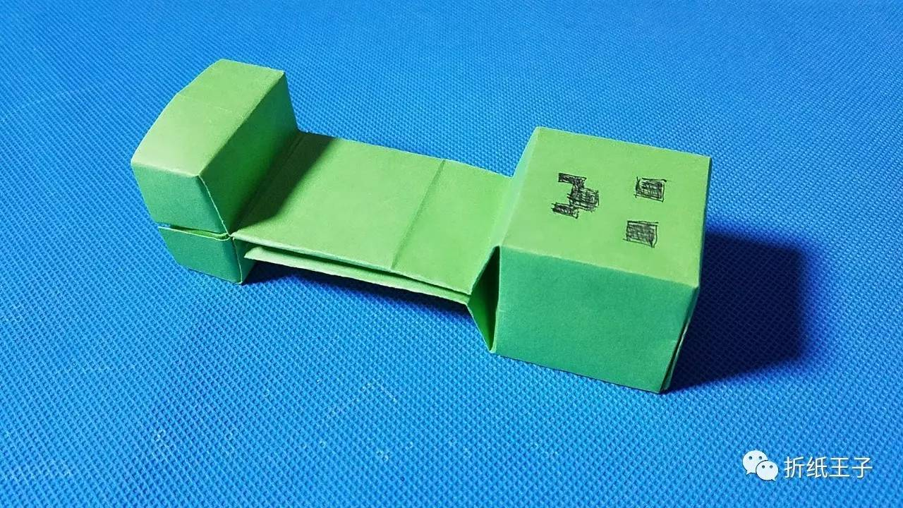 折纸王子教你折纸苦力怕