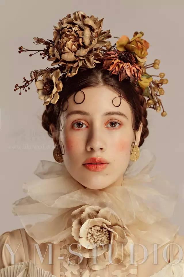 高贵而冷艳的欧式复古新娘造型,美._搜狐时尚