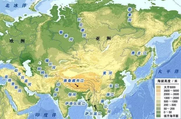 水之源,全球主要河流水系_搜狐历史_搜狐网图片