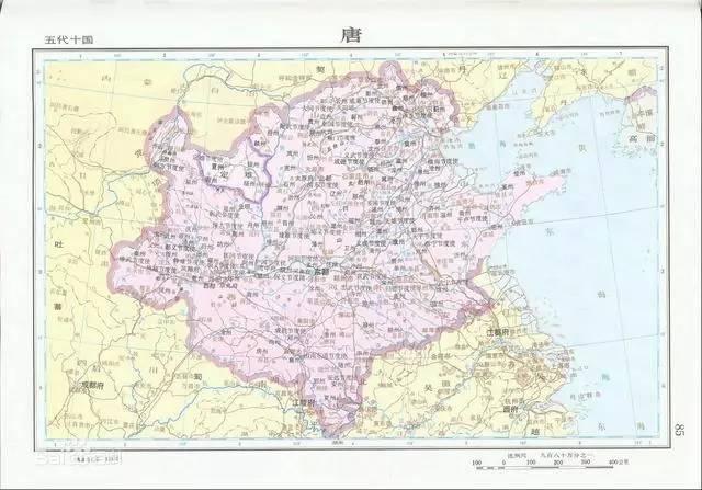 个特殊时期叫 五代十国 ,知道你的家乡属于哪一国么