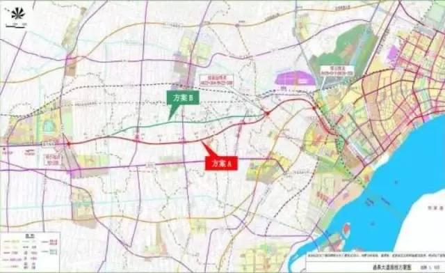 市域交通规划中需增加如皋至南通区域的快速路,增加1条市域一级公路.
