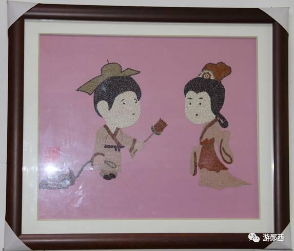 民汪礼根 痴迷粮食作画 五谷杂粮变身艺术品