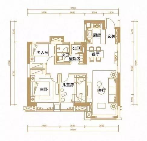 户型 户型图 平面图 487_467