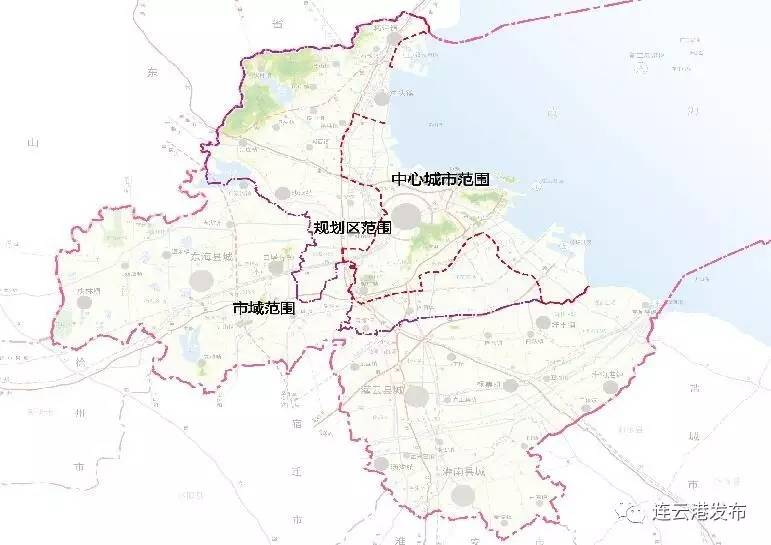 重磅 连云港市城市总体规划 草案 批前公示 未来港城这样发展