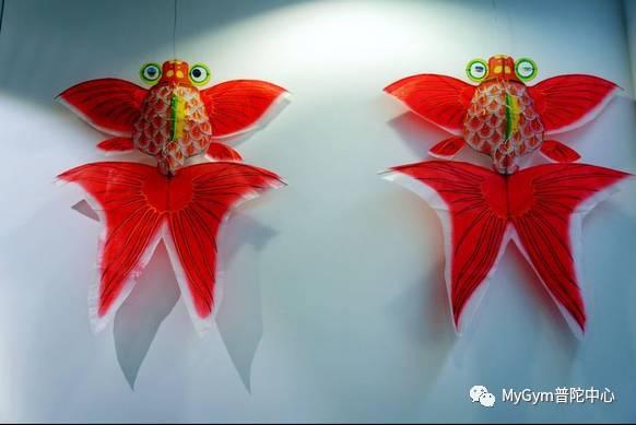 艺术作品主题:《鱼形风筝制作艺术》