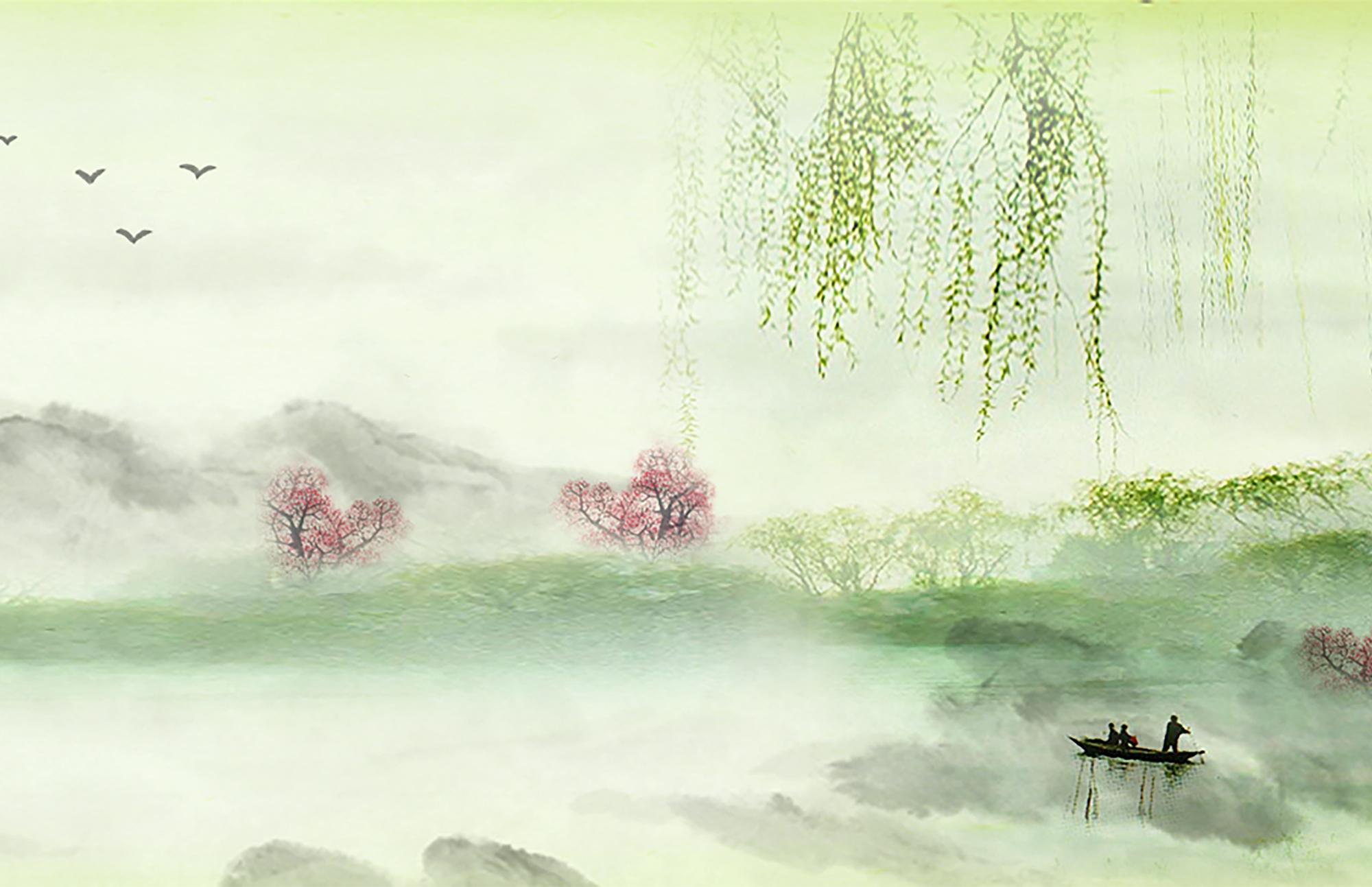 原创:七律·谷雨 (新韵、插图) - 芳  草  美  人 - 芳 草 美 人